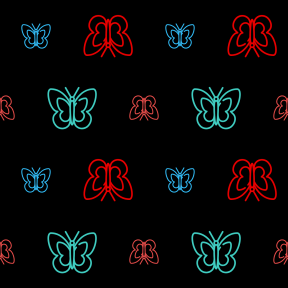 Pattern Design - #IconPattern #PatternBackground #animals #wings #insects #invertebrate #insect #beautiful