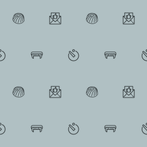 Pattern Design - #IconPattern #PatternBackground #digital #photographer #time #fashion #note #envelope