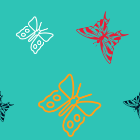 Pattern Design - #IconPattern #PatternBackground #animals #insect #design #top #lime