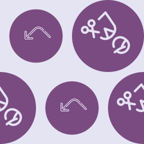Pattern Design - #IconPattern #PatternBackground #shapes #women #hairdressing #people #circle #option #view #drum