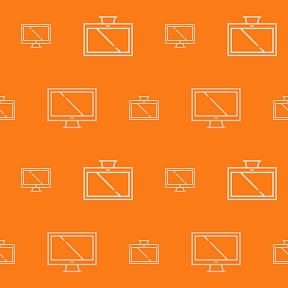 Pattern Design - #IconPattern #PatternBackground #tv #technology #technological #television #screen