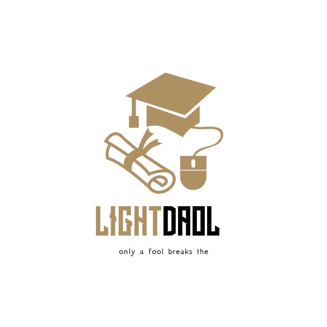 Logo Design - #Branding #Logo #graduation #education #hat #mouse #diploma #tools #cap