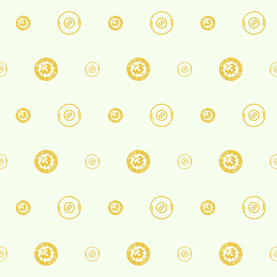 Pattern Design - #IconPattern #PatternBackground #cash #coin #money #circle #banking #exchange #business