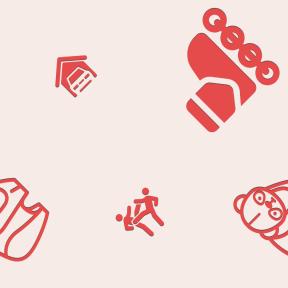 Pattern Design - #IconPattern #PatternBackground #mammal #man #skate #wrestler #kick