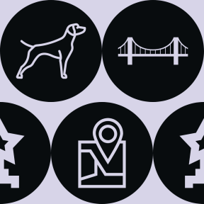 Pattern Design - #IconPattern #PatternBackground #orientation #dog #round #monuments #location #Flags