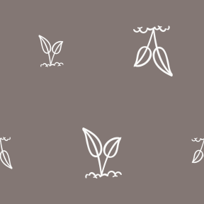Pattern Design - #IconPattern #PatternBackground #plant #nature #leaves #leaf #germination