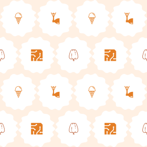 Pattern Design - #IconPattern #PatternBackground #computer #scalloped #illumination #sweet #organic #tools #and #ovals #icons