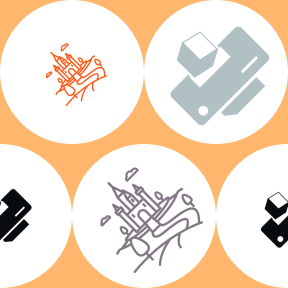 Pattern Design - #IconPattern #PatternBackground #Tools #cube #icons #medieval #cubes #black #shape #drum #circle #and