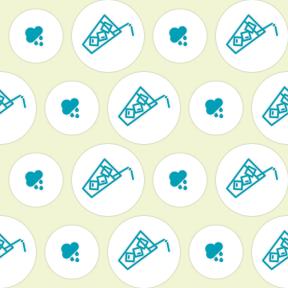 Pattern Design - #IconPattern #PatternBackground #drink #music #top #food #Soft