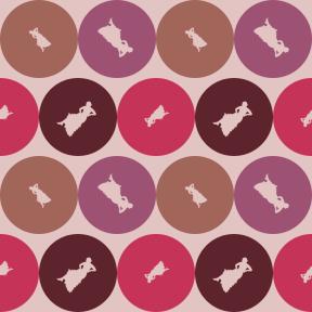 Pattern Design - #IconPattern #PatternBackground #circular #flamenco #add #silhouette #shapes #circle #shape