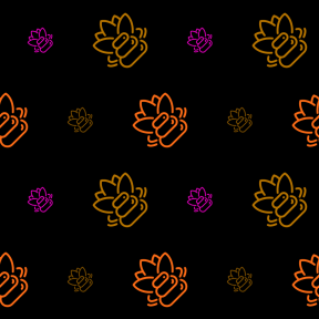 Pattern Design - #IconPattern #PatternBackground #treatment #medical #lotus #stones #flower #pebbles #welness