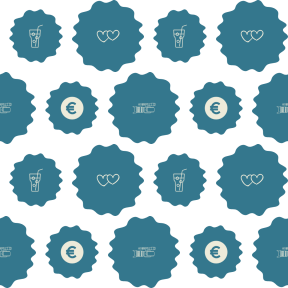 Pattern Design - #IconPattern #PatternBackground #in #frame #food #money #vintage #ice #border #fall #drink #grungy