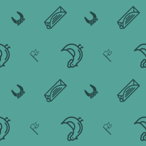 Pattern Design - #IconPattern #PatternBackground #junk #Saint #farming #animal #surrender #fattening #luck #food