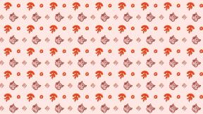 HD Pattern Design - #IconPattern #HDPatternBackground #animals #hearts #coffee #store #squirrel #rome #balloon
