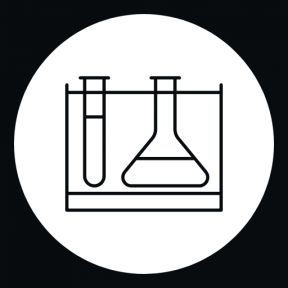Icon Graphic - #SimpleIcon #IconElement #test #tube #button #medical #lab #shapes