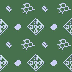 Pattern Design - #IconPattern #PatternBackground #casino #shapes #vintage #transport #card #gambling #chips