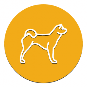 Icon Graphic - #SimpleIcon #IconElement #animals #dog #mammal #music #breed #circular #drum