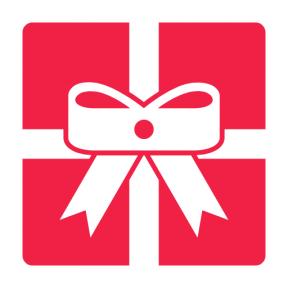 Icon Graphic - #SimpleIcon #IconElement #birthday #giftbox #gift #surprise #ribbon #shapes