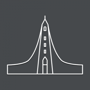 Icon Graphic - #SimpleIcon #IconElement #church #iceland #lutheran #Reykjavik #monuments
