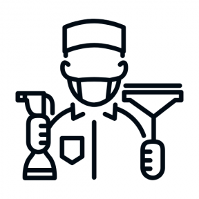 Icon Graphic - #SimpleIcon #IconElement #cleaned #people #man #clean #men #cleaner