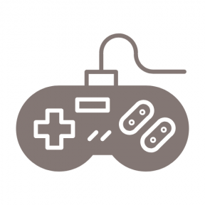 Icon Graphic - #SimpleIcon #IconElement #controller #game #video #console #technology