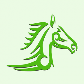 Icon Graphic - #SimpleIcon #IconElement #horse #view #side #variant #art #tattoo