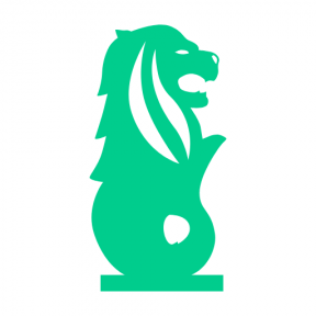 Icon Graphic - #SimpleIcon #IconElement #lion #park #monuments #statue #mythical #singapore