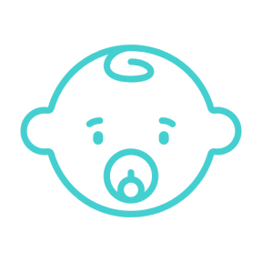 Icon Graphic - #SimpleIcon #IconElement #motherhood #people #kids #head #face #child
