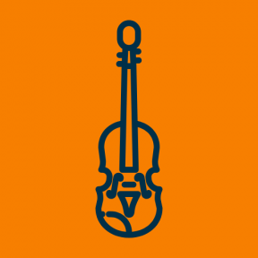 Icon Graphic - #SimpleIcon #IconElement #orchestra #folk #music #string #musical