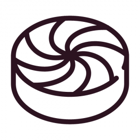 Icon Graphic - #SimpleIcon #IconElement #peppermint #candy #food #sweet #sugar
