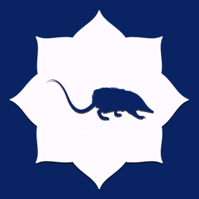 Icon Graphic - #SimpleIcon #IconElement #rat #kingdom #florets #corners #frames #animal