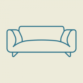Icon Graphic - #SimpleIcon #IconElement #relax #livingroom #home #furniture #couch #seat