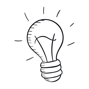 Icon Graphic - #SimpleIcon #IconElement #technology #invention #illumination #electricity #idea #bulbs #light