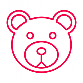 Icon Graphic - #SimpleIcon #IconElement #toys #childhood #child #bears #animals #babies #toy #baby