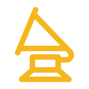 Icon Graphic - #SimpleIcon #IconElement #trophy #grammy #player #musical #award #music