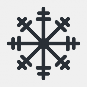 Icon Graphic - #SimpleIcon #IconElement #weather #frost #cold #winter #snow