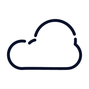 Icon Graphic - #SimpleIcon #IconElement #weather #storms #stormy #clouds #storm #clouded #cloudy