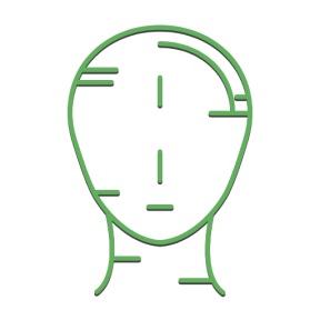 Icon Graphic - #SimpleIcon #IconElement #anatomy #body #part #brain #people #human #think