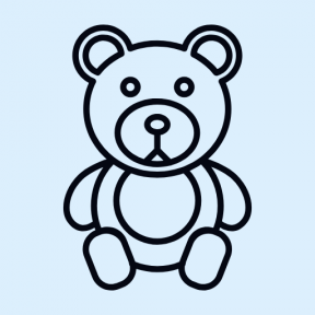 Icon Graphic - #SimpleIcon #IconElement #animals #toys #toy #bears #children #kids #teddies