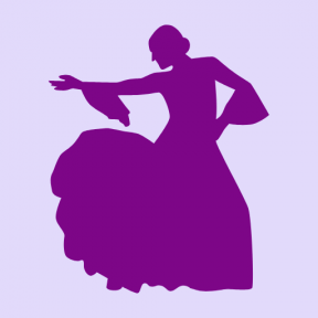 Icon Graphic - #SimpleIcon #IconElement #dancing #icons #dancer #dance #people #silhouette #flamenco #woman