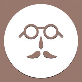 Icon Graphic - #SimpleIcon #IconElement #geometric #circular #black #shape #nose #geometrical #symbol #circle