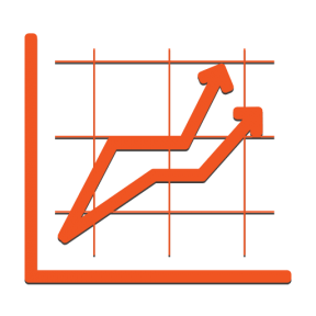 Icon Graphic - #SimpleIcon #IconElement #graphical #stats #business #statistics #financial #finances