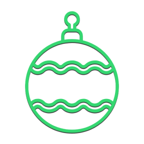 Icon Graphic - #SimpleIcon #IconElement #holiday #ornamental #xmas #merry #ornament