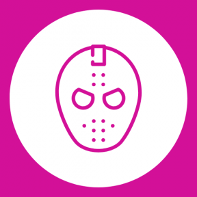 Icon Graphic - #SimpleIcon #IconElement #horror #circles #shapes #circle #costume #rounded