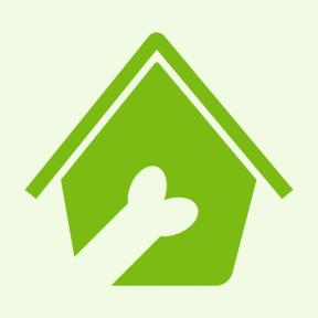 Icon Graphic - #SimpleIcon #IconElement #hotel #dog #pets #house #bone