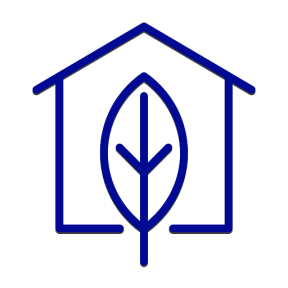 Icon Graphic - #SimpleIcon #IconElement #leaf #ecologic #home #ecological #real