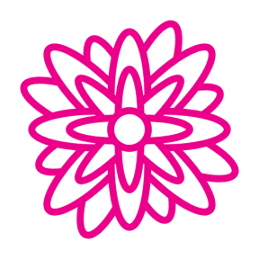 Icon Graphic - #SimpleIcon #IconElement #nature #botanical #blossom #petals #flower #nymphea