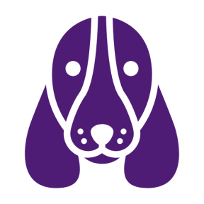 Icon Graphic - #SimpleIcon #IconElement #pet #Hound #head #ears #face #dog #animals #Long #Basset