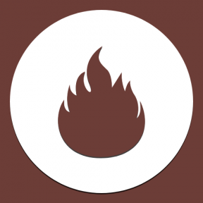 Icon Graphic - #SimpleIcon #IconElement #shape #fire #black #shapes #circular