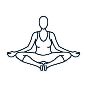 Icon Graphic - #SimpleIcon #IconElement #sport #relaxing #pilates #people #yoga #calm